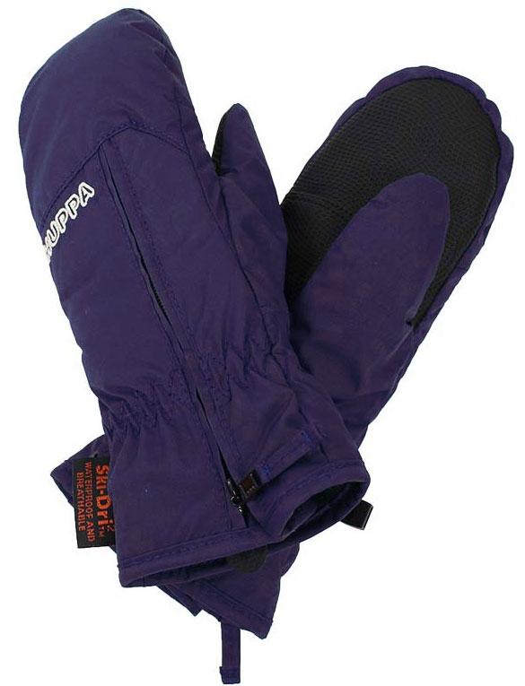 Варежки детские Huppa Mia, цвет: фиолетовый. 8164BASE-70073. Размер 28164BASE-70073Детские варежки Huppa Mia, изготовленные из высококачественного полиэстера, станут идеальным вариантом для холодной зимней погоды. Первоклассный мембранный материал с теплой мягкой флисовой подкладкой, а также наполнитель из полиэстера надежно сохранят тепло и не дадут ручкам вашего малыша замерзнуть.Варежки дополнены удлиненными манжетами, которые помогут предотвратить попадание снега и влаги. На запястьях варежки собраны на эластичные резинки, что обеспечивает комфортную и надежную посадку. Изделие дополнено застежками-молниями.