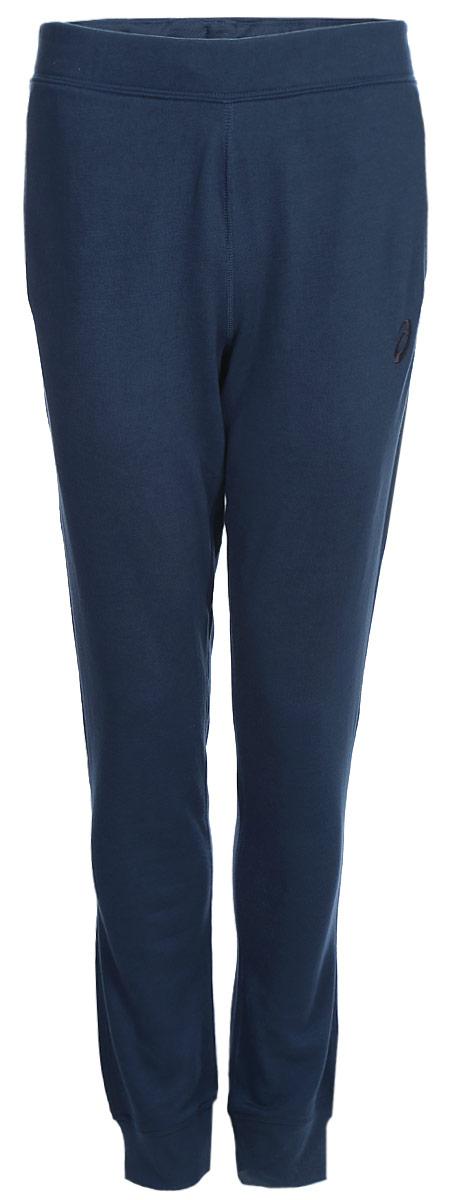 Брюки мужские Asics Essentials Pant, цвет: синий. 134795-0834. Размер S (46)134795-0834трикотажные брюки подойдут для любого времени года, а прилегающий крой означает, что ничто не помешает вам двигаться еще энергичнее