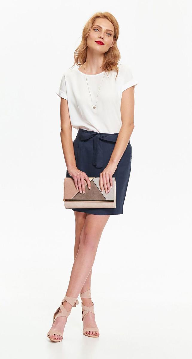 Блузка жен Top Secret , цвет: белый. SKS0971BI. Размер 42 (50)SKS0971BI