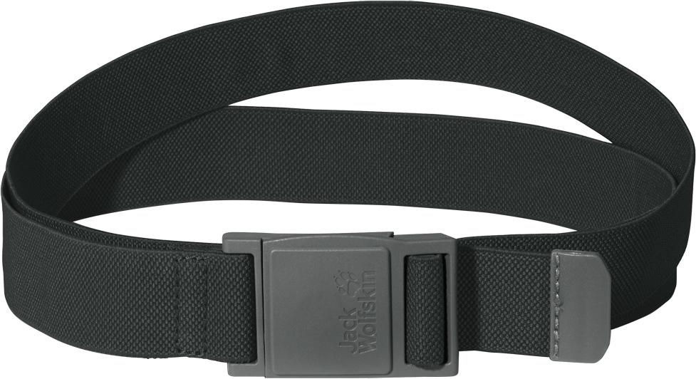 Ремень Jack Wolfskin Stretch Belt, цвет: серый. 8001761-6033. Размер универсальный8001761-6033Эластичный ремень с магнитной застежкой. Удобная эластичность: наш ремень STRETCH BELT очень приятно носить благодаря его эластичности. Он застегивается одним движением руки на качественную магнитную пряжку. 125/115 x 3 см