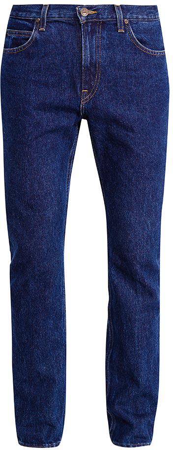 Джинсы мужские Lee, цвет: синий. L70144ZT. Размер 31-32 (46/48-32)L70144ZTМужские джинсы от Lee выполнены из натурального хлопка. Прямая модель имеет классический пятикарманный крой: спереди - два втачных кармана и один маленький кармашек, сзади - два накладных кармана. Джинсы в поясе застегивается на пуговицу, имеются ширинка на молнии и шлевки для ремня.