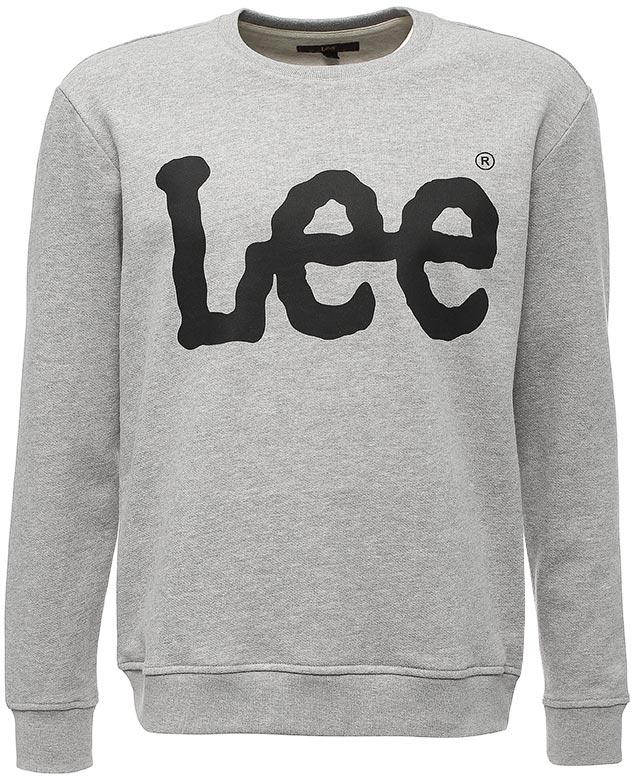 Джемпер мужской Lee, цвет: серый. L82UUB37. Размер XL (52)L82UUB37