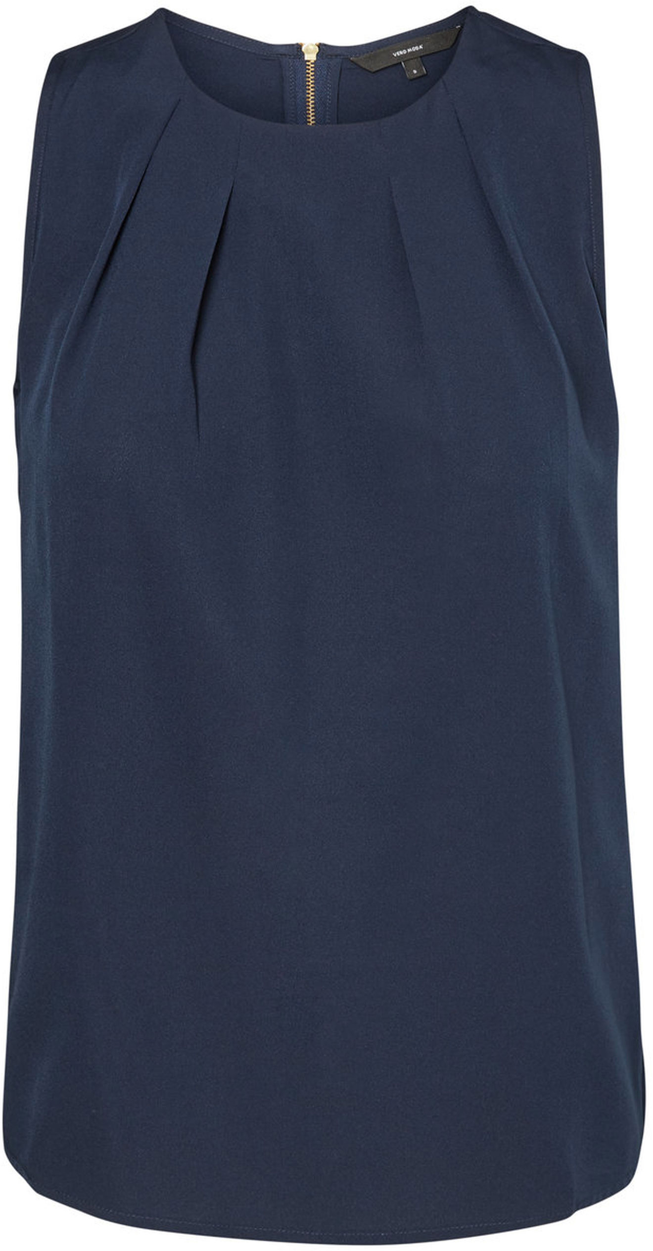 Топ жен Vero Moda, цвет: синий. 10185857_Navy Blazer. Размер XL (50/52)10185857_Navy Blazer