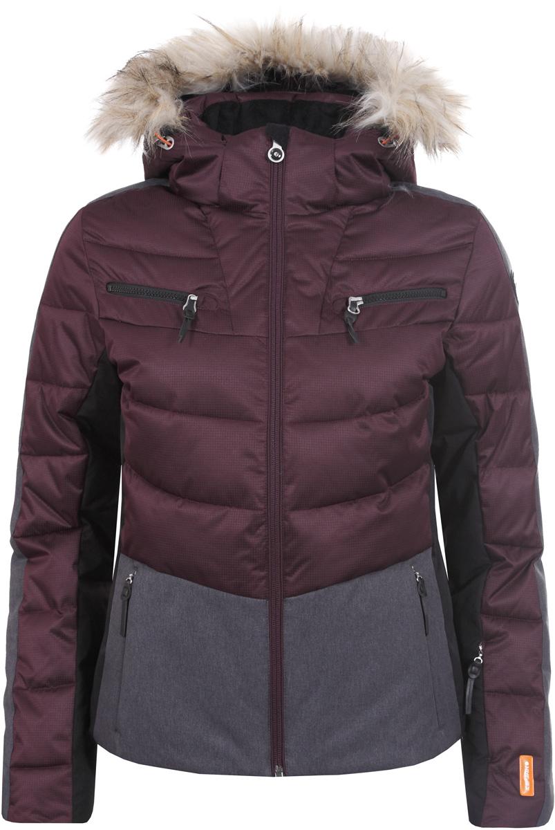 Куртка жен Icepeak, цвет: красный. 853205512IV_685. Размер 42 (48)853205512IV_685