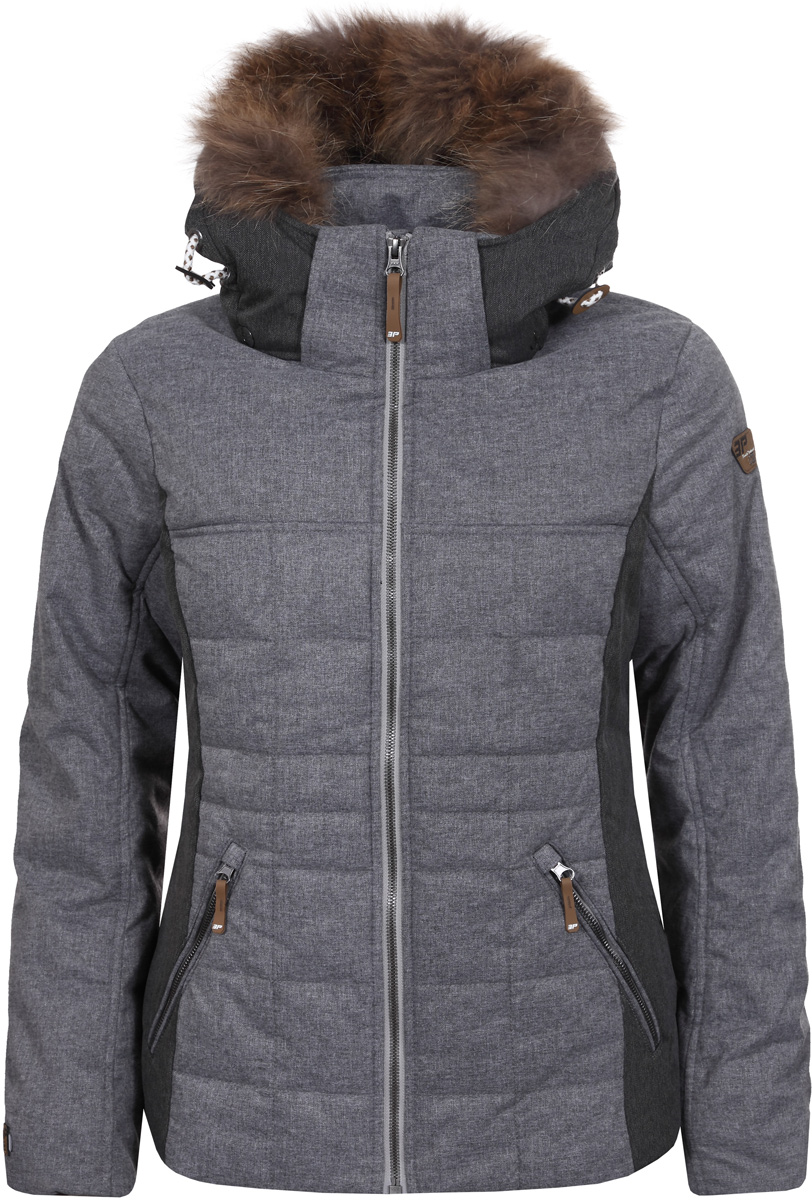 Куртка жен Icepeak, цвет: светло-серый. 853045562IV_810. Размер 36 (42)853045562IV_810