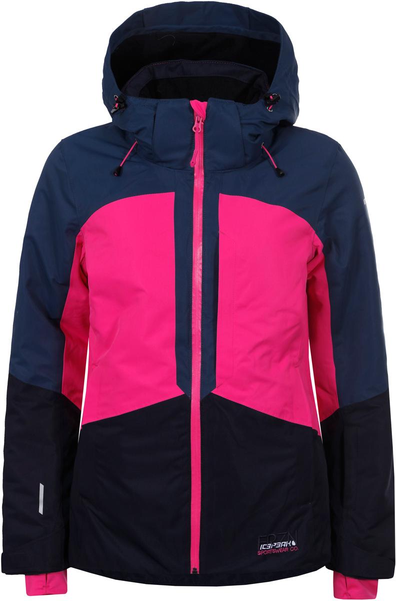 Куртка жен Icepeak, цвет: синий. 853227659IV_661. Размер 38 (44)853227659IV_661