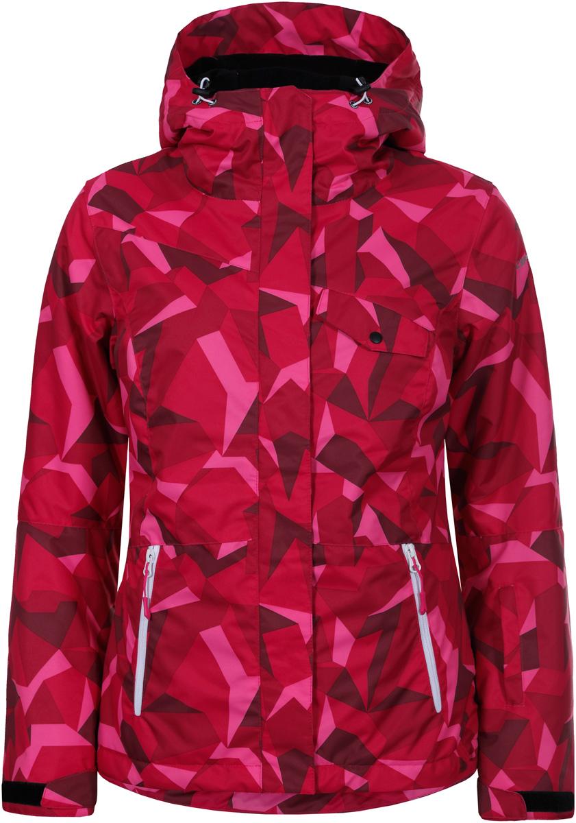 Куртка жен Icepeak, цвет: фуксия. 853226571IV_663. Размер 42 (48)853226571IV_663