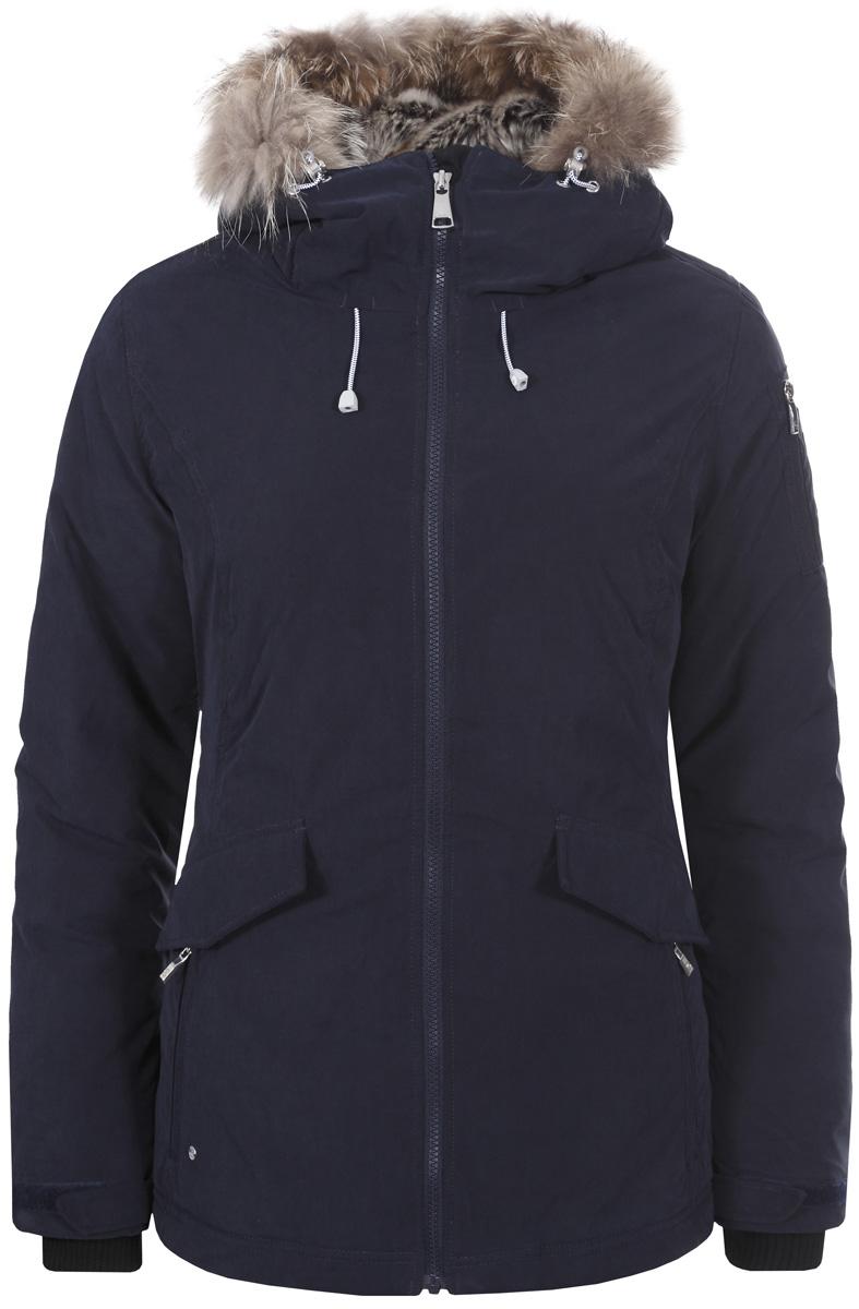 Куртка жен Luhta, цвет: темно-синий. 838400345L7V_390. Размер 38 (46)838400345L7V_390