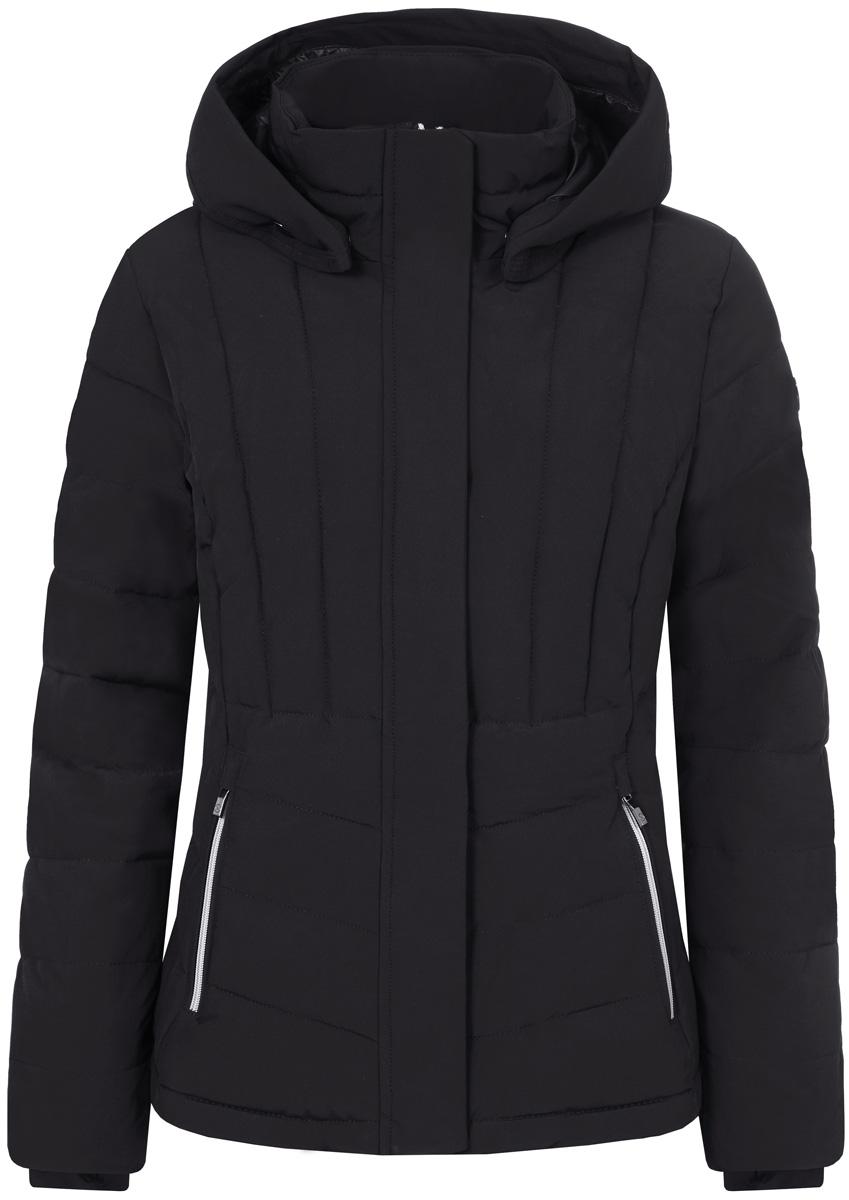 Куртка жен Luhta, цвет: черный. 838449535LV_990. Размер 36 (44)838449535LV_990