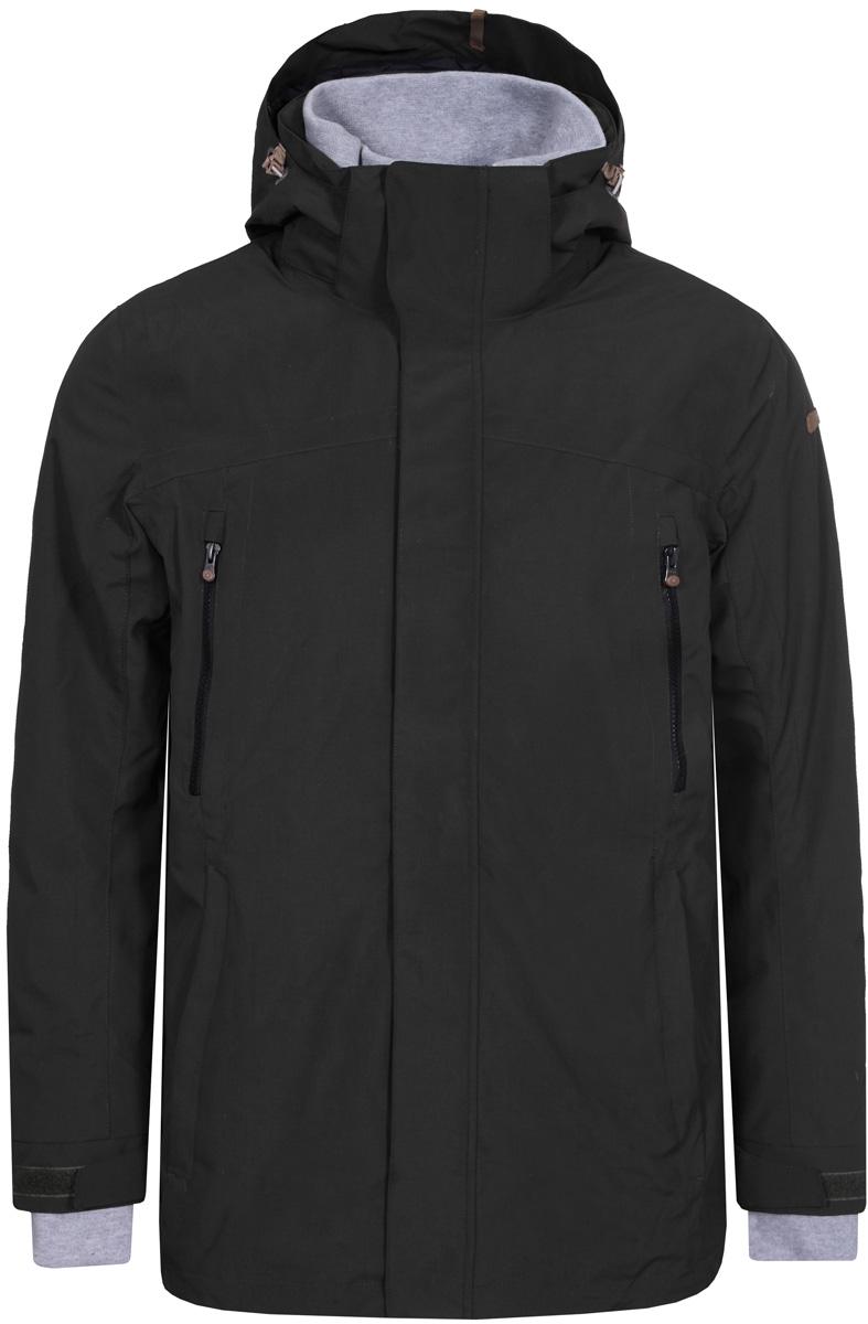 Куртка муж Icepeak, цвет: темно-зеленый. 856070575IV_585. Размер 48856070575IV_585