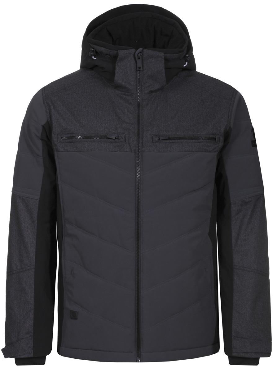 Куртка муж Luhta, цвет: черный. 838507535LV_990. Размер 48838507535LV_990