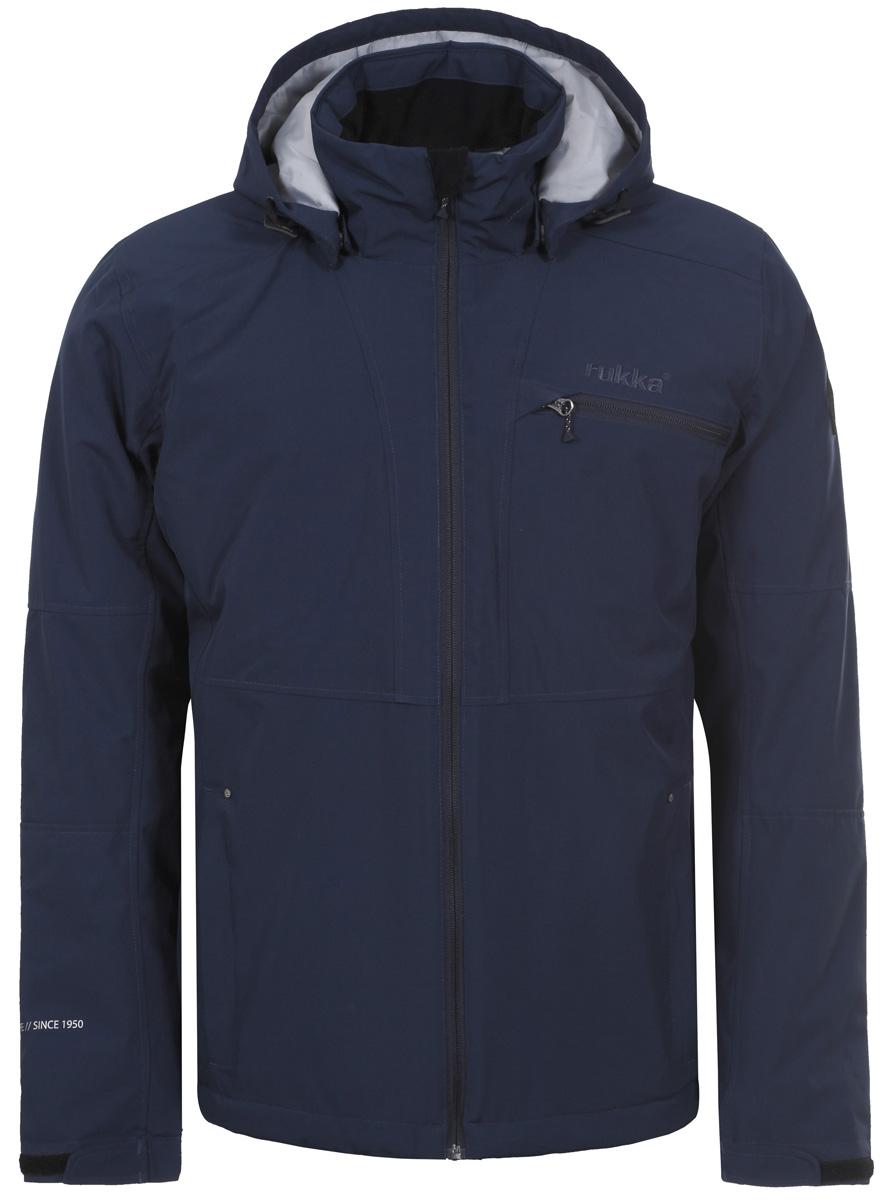 Куртка утепленная с капюшоном муж Rukka, цвет: синий. 878356236RV_370. Размер XXL (56)878356236RV_370