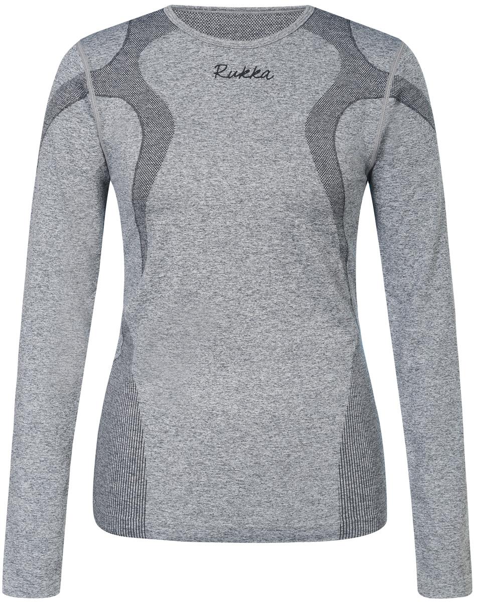 Комплект (футболка с длинным рукавом и леггинсы) жен Rukka, цвет: серый. 870545245RV_274. Размер 46870545245RV_274