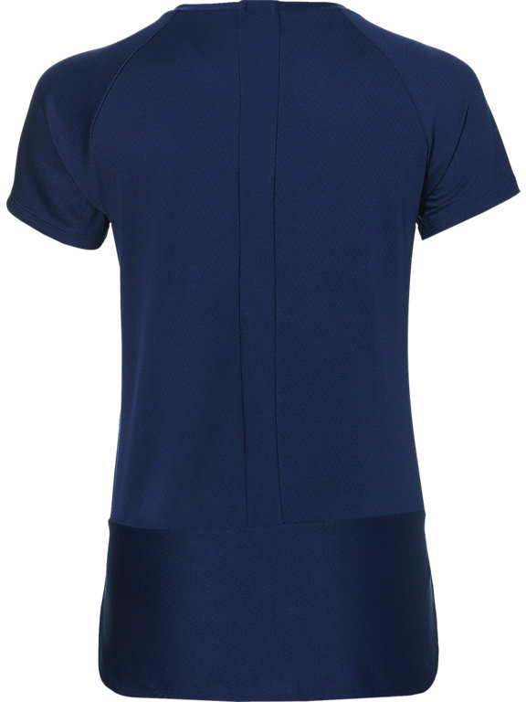 Футболка для фитнеса женская Asics SS Raglan Top, цвет: синий. 146420-8052. Размер S (44/46)146420-8052Футболка Asics предназначена специально для бега. Эта легкая беговая футболка обеспечит вам безупречный комфорт и достижение высоких спортивных результатов благодаря мягкой, эластичной ткани, которая отводит влагу и поддерживает тело сухим. Плоские швы не натирают кожу и обеспечивают полный комфорт. Фасон рукавов-реглан элегантен и создает свободу движений. Футболка декорирована логотипом. Максимальный комфорт и уникальный спортивный образ!