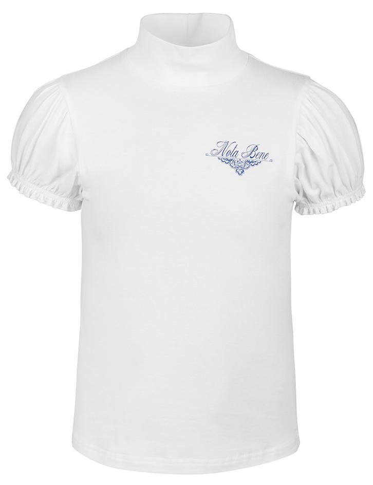 Блузка для девочки Nota Bene, цвет: белый. CJR27041B01. Размер 146CJR27041A01