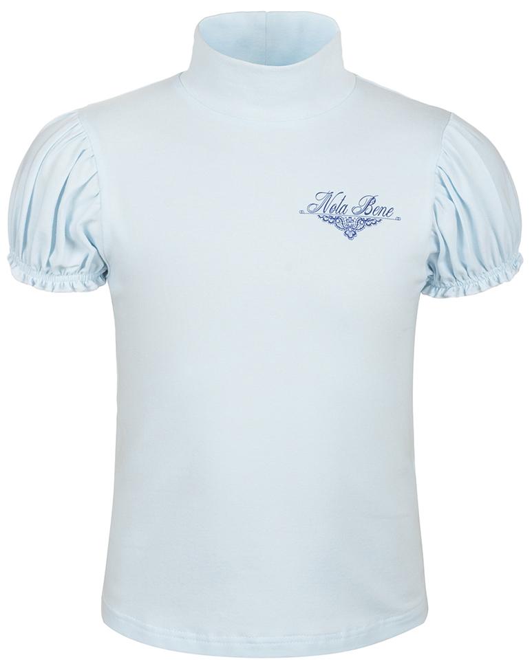 Блузка для девочки Nota Bene, цвет: голубой. CJR27041A10. Размер 128CJR27041A10