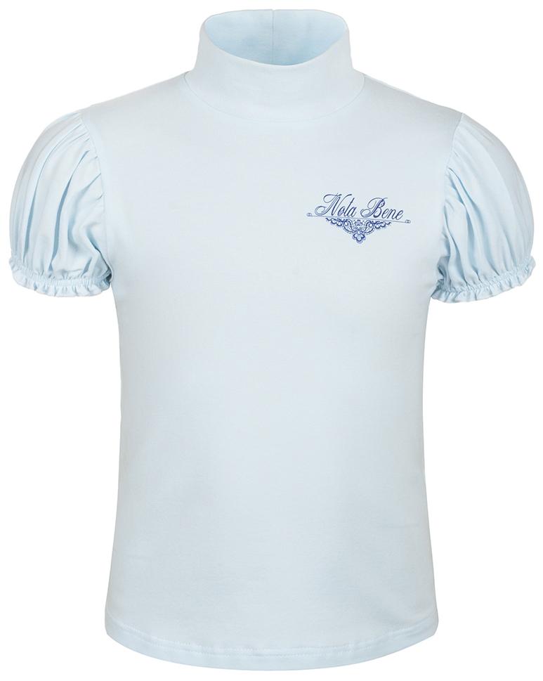Блузка для девочки Nota Bene, цвет: голубой. CJR27041B10. Размер 164CJR27041B10