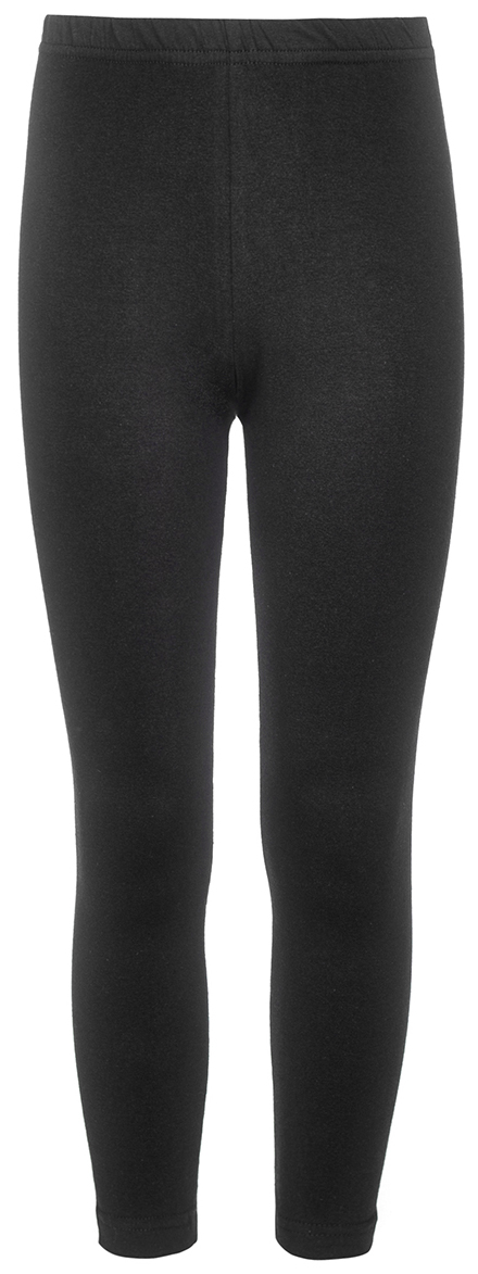 Леггинсы для девочки M&D, цвет: черный. WKJL27059M21. Размер 116WKJL27059Леггинсы для девочки выполнены из однотонного трикотажного полотна. Удлиненные, прилегающего силуэта, пояс на резинке.