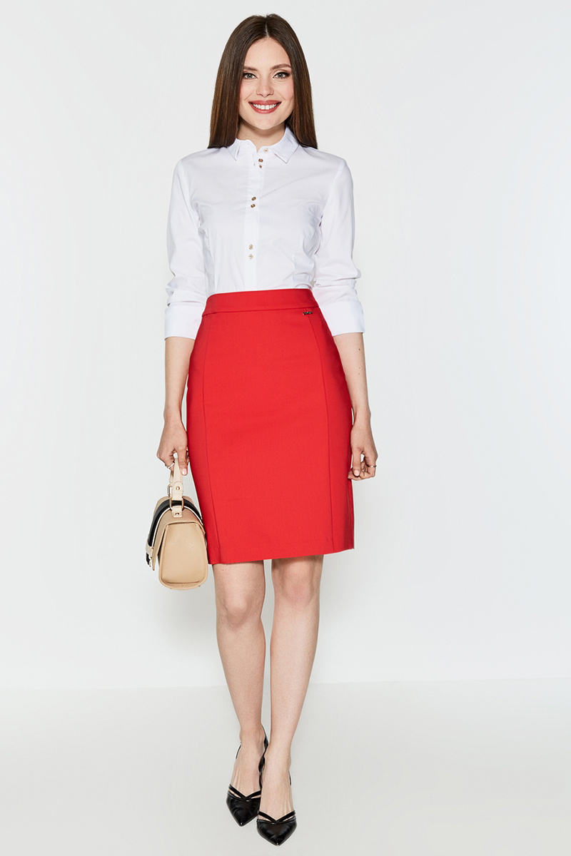 Блузка женская Concept Club Cowa, цвет: белый. 10200260163. Размер M (46)10200260163