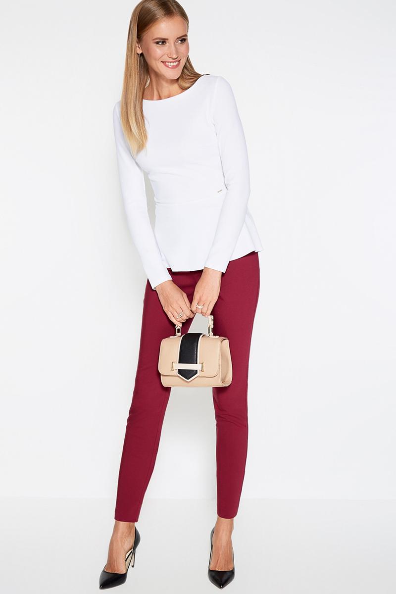 Блузка женская Concept Club Krep, цвет: белый. 10200100123. Размер XL (50)10200100123