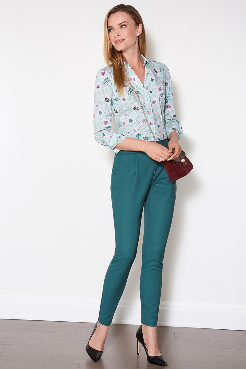 Блузка женская Concept Club Wella, цвет: мультиколор. 10200260177. Размер S (44)10200260177