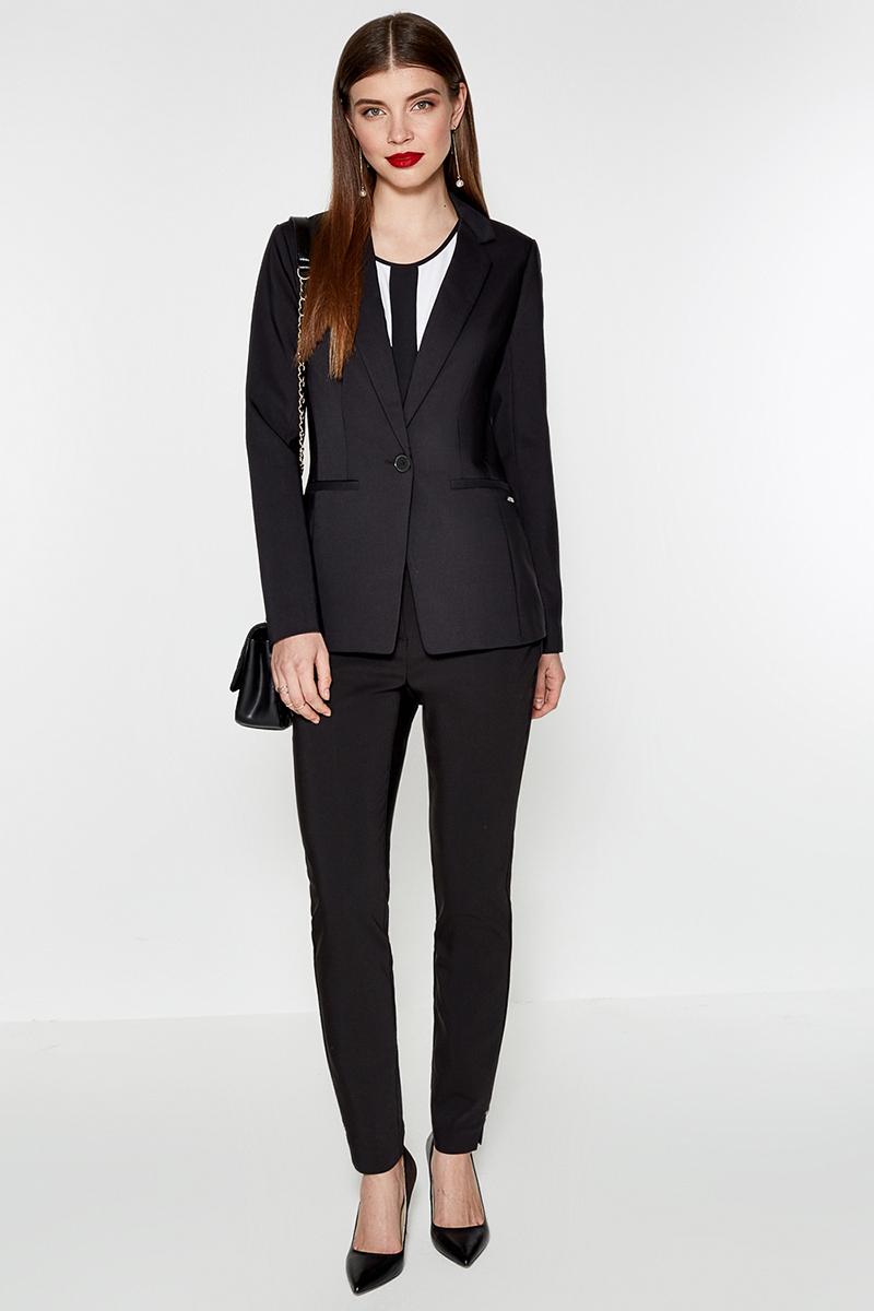 Брюки женские Concept Club Kolli, цвет: черный. 10200160215. Размер S (44)10200160215