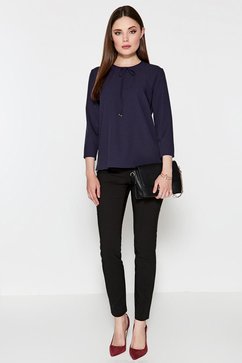 Брюки женские Concept Club Pil, цвет: черный. 10200160231. Размер S (44)10200160231Классические брюки от Concept Club облегающего кроя, выполненные из плотной эластичной ткани. Модель с застежкой на молнию сбоку и декоративными швами сверху.