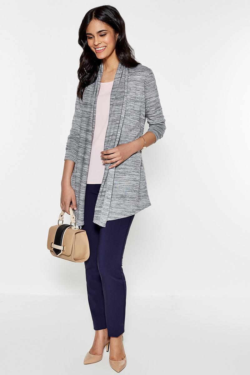 Жакет женский Concept Club Bergen2, цвет: светло-серый. 10200130096. Размер S (44)10200130096