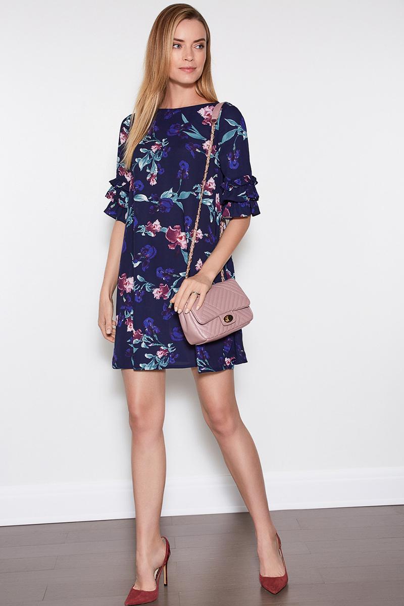 Платье Concept Club Baks, цвет: синий. 10200200359. Размер M (46)