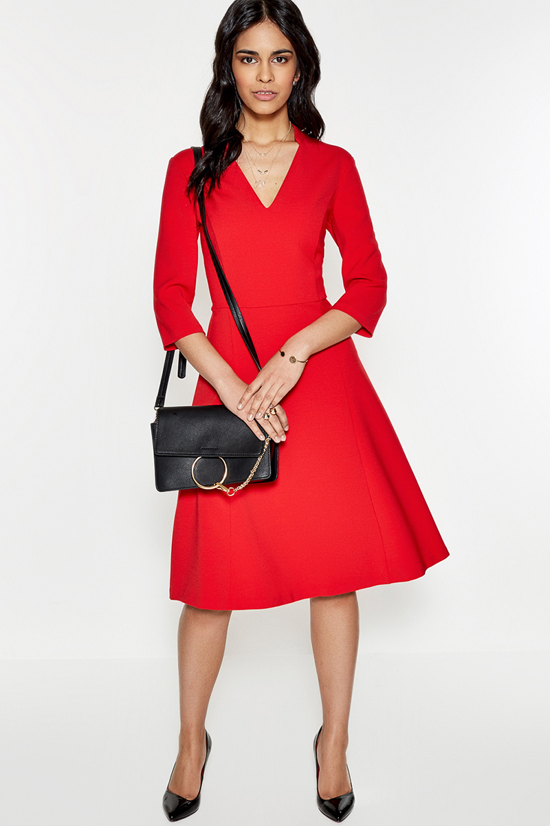 Платье Concept Club Panna, цвет: красный. 10200200333. Размер M (46)10200200333
