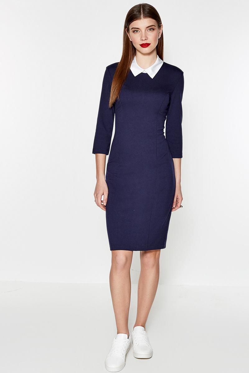 Платье Concept Club Senti, цвет: темно-синий. 10200200338. Размер XS (42)10200200338