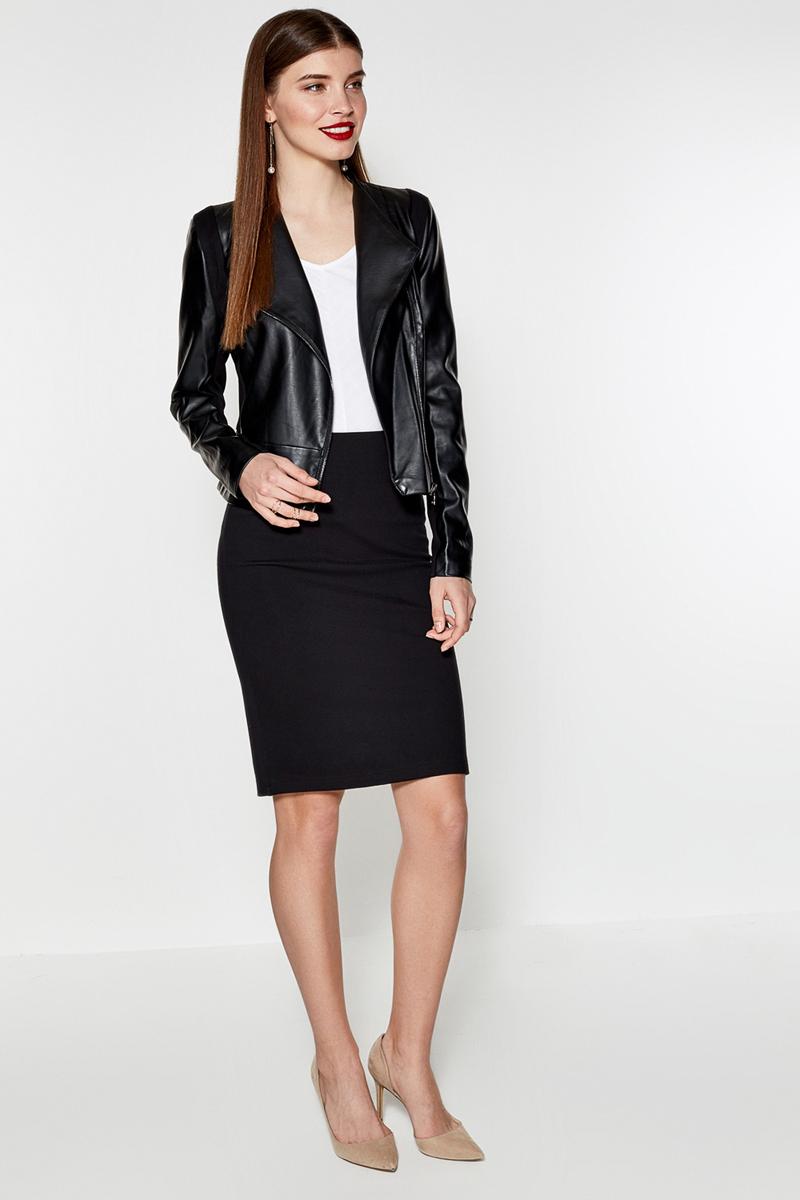 Юбка Concept Club Maple2, цвет: черный. 10200180179. Размер S (44)10200180179