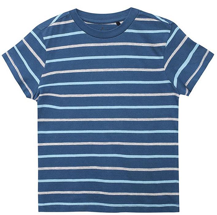 Футболка для мальчиков Sela, цвет: синий. Ts-711/357-7341. Размер 116Ts-711/357-7341