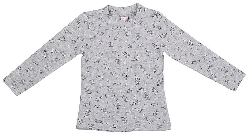 Джемпер для девочек Sela, цвет: серый. Tt-511/420-7351. Размер 116Tt-511/420-7351
