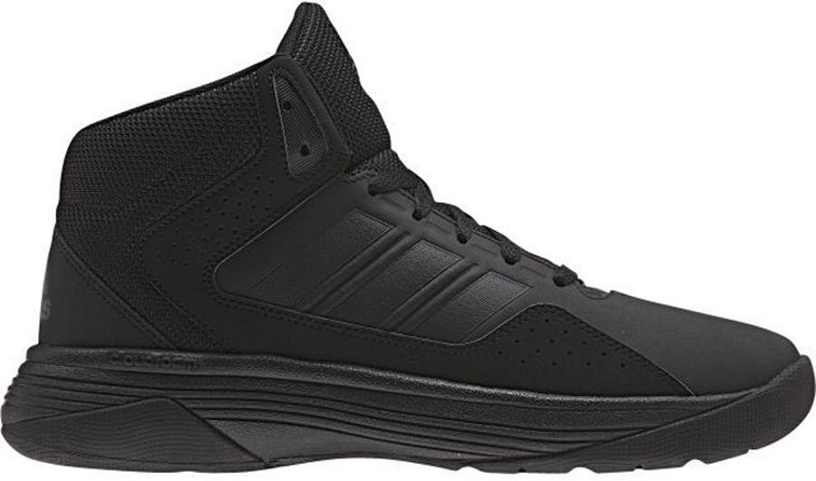Кроссовки для баскетбола мужские adidas Performance Cloudfoam Ilation Mid, цвет: черный. AW4651. Размер 10,5 (44)AW4651Стильные кроссовки от adidas Performance Cloudfoam Ilation Mid, исполненные в современном баскетбольном стиле и с пружинистой амортизацией, отлично подойдут как для тренировок, так и для повседневной носки. Модель выполнена из синтетических материалов и дополнена вставками из сетчатого текстиля. Боковые стороны оформлены легкой перфорацией и фирменными полосками, мыс - перфорацией и вставкой из кожи контрастного цвета, язычок и задник - логотипом бренда. Классическая шнуровка надежно зафиксирует изделие на стопе. Текстильная подкладка и мягкий манжет предотвратят натирание и гарантируют уют. Стелька cloudfoam footbed из ЭВА материала с текстильным верхним покрытием обеспечит лучшую амортизацию. Промежуточная подошва cloudfoam предназначена для поглощения ударных нагрузок и комфортной посадки без разнашивания. Прорезиненная накладка на мыске для дополнительной защиты пальцев. Рельефная поверхность подошвы cloudfoam обеспечивает отличное сцепление с любой поверхностью. Такие кроссовки придутся вам по душе.