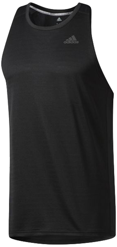 Майка для бега муж Adidas Rs Singlet M, цвет: черный. BP7474. Размер XXL (60/62) - Бег
