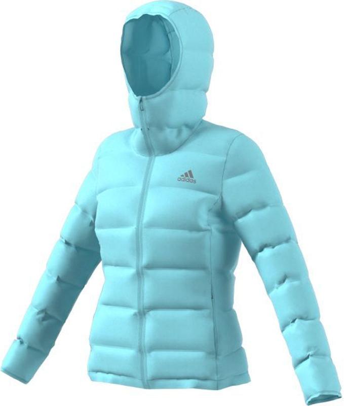 Пуховик жен Adidas W Helionic Ho J, цвет: голубой. BQ1929. Размер XS (40/42)BQ1929Пуховик жен.• 80% утиный пух/ 20% наполнитель - перо:Высококачественный пуховый наполнительдля максимально легкой теплоизоляции• МЕМБРНАННЫЙ МАТЕРИАЛ CONEXT:Материал без швов и стыков, для защиты ответра и воды• Светоотражающий логотип: для лучшейвидимости• Карманы спереди с медиа каналом:• Регулируемый нижний край: эластичныезавязки-шнурки