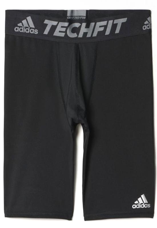 Шорты компрессионные муж Adidas TF Base ST, цвет: черный. AJ5037. Размер M (48/50) - Бег