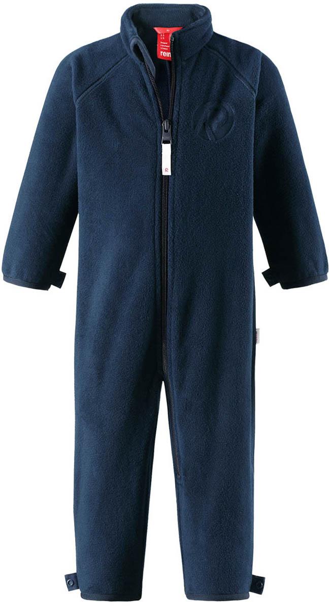 Комбинезон утепленный флисовый детский Reima Ester, цвет: синий. 5163156980. Размер 805163156980