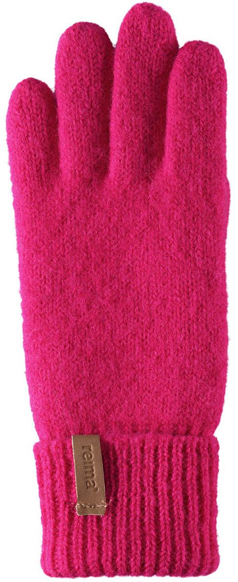Перчатки для девочек Reima Supi, цвет: розовый. 5272913560. Размер 75272913560