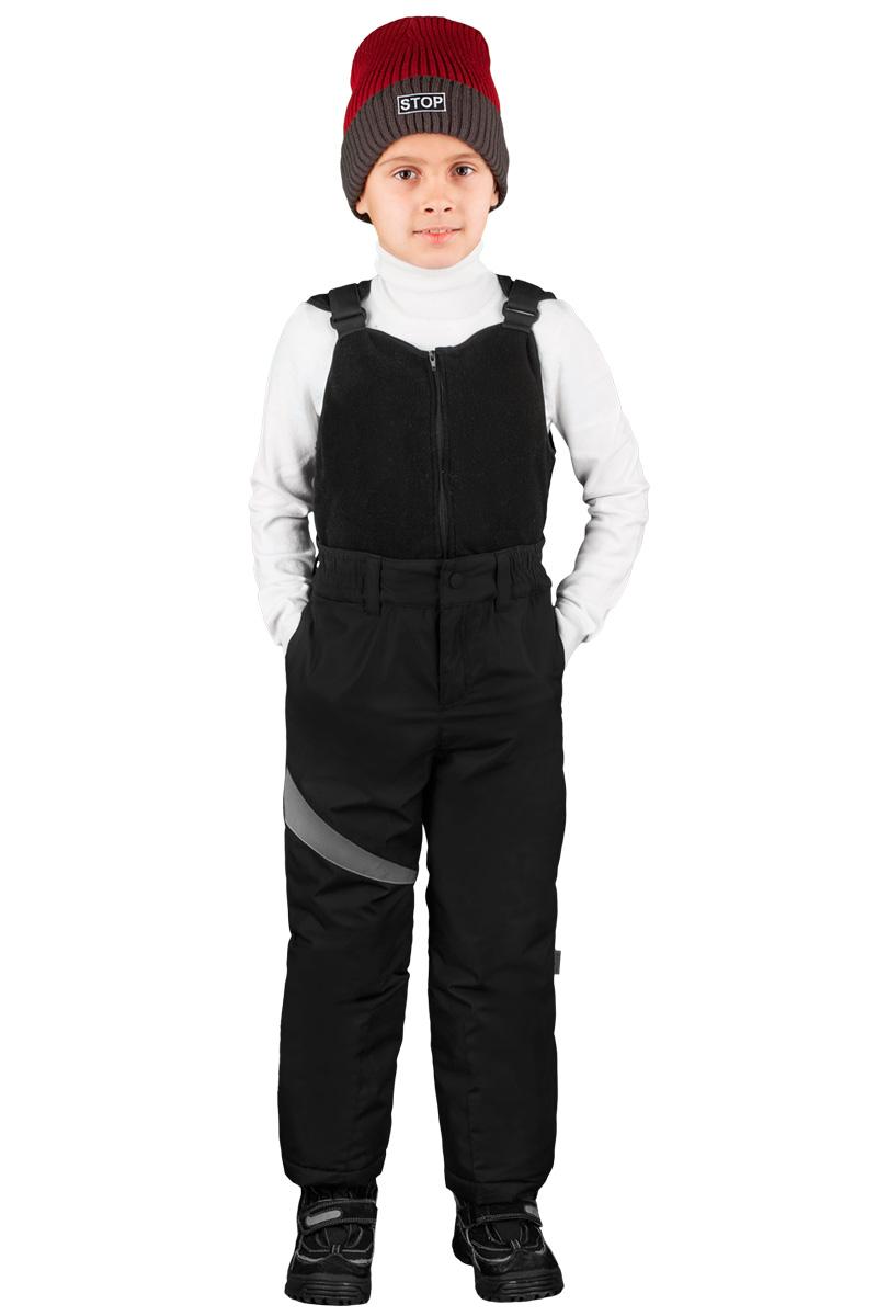 Полукомбинезон для мальчика Boom!, цвет: черный. 70497_BOB_вар.2. Размер 140, 10-11 лет70497_BOB_вар.2
