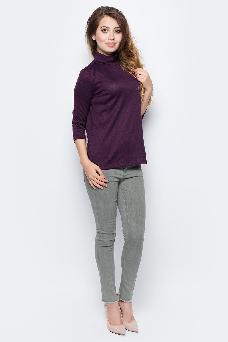 Джемпер жен Sela, цвет: амарантовый. Tt-111/1329-7321. Размер XL (50)Tt-111/1329-7321