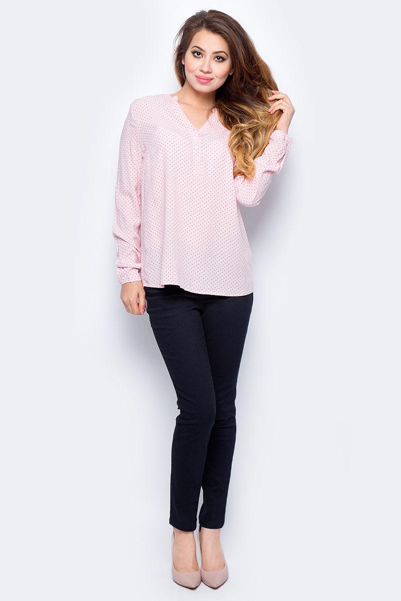 Блузка жен Sela, цвет: пыльно-розовый. B-112/1321-7321. Размер 46B-112/1321-7321