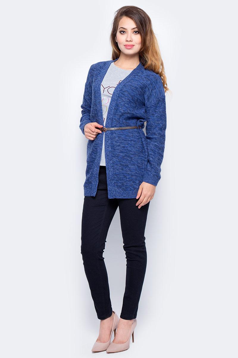 Жакет жен Sela, цвет: синий меланж. CN-114/1204-7321. Размер S (44)CN-114/1204-7321