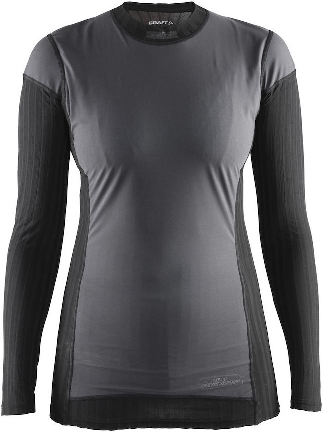 Термобелье кофта женская Craft Active Extreme, цвет: черный. 1904500/9999. Размер S (44)1904500/9999