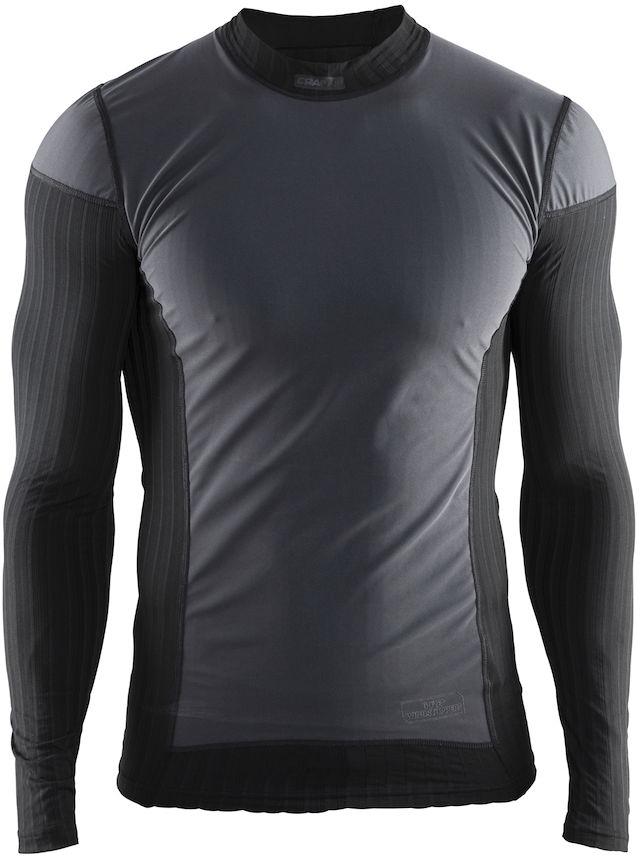 Термобелье кофта мужская Craft Active Extreme, цвет: черный. 1904505/9999. Размер S (46)1904505/9999