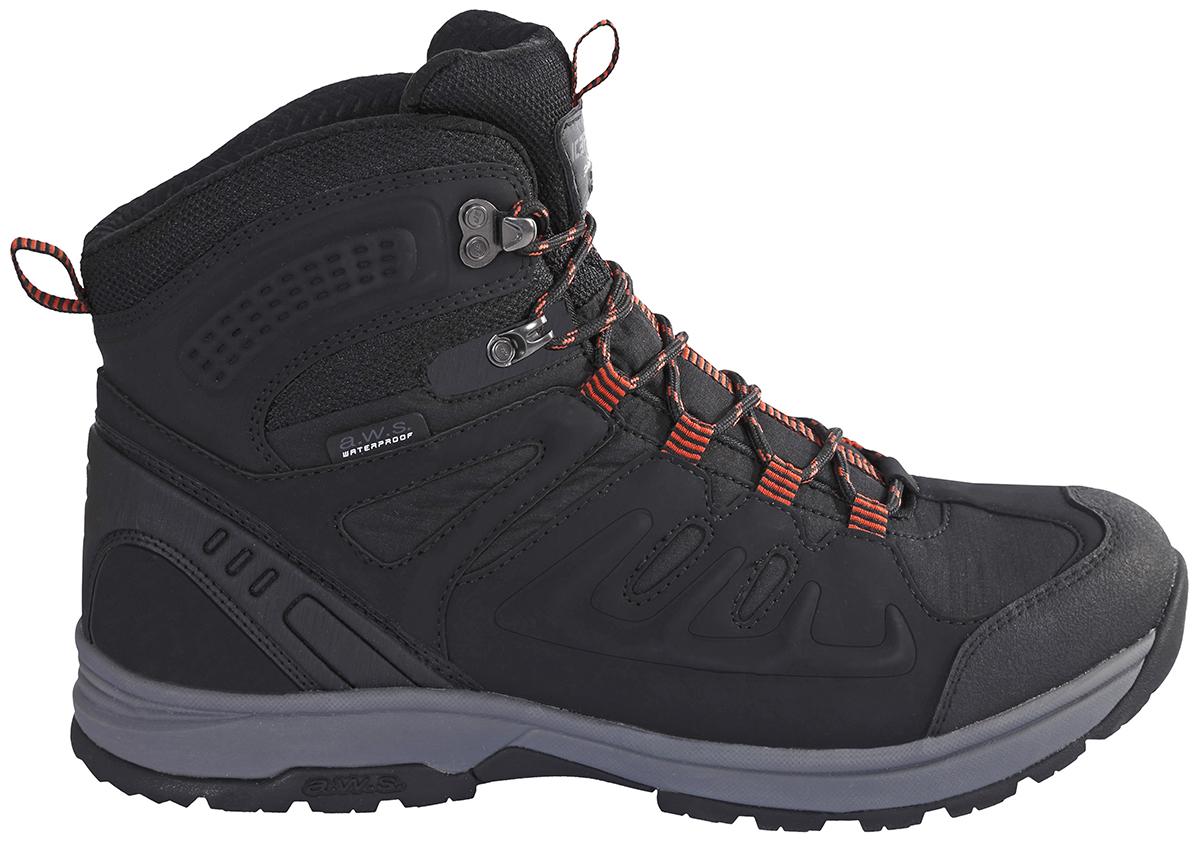 Ботинки мужские Icepeak, цвет: черный. 878210100IV_990. Размер 42 (41)878210100IV_990