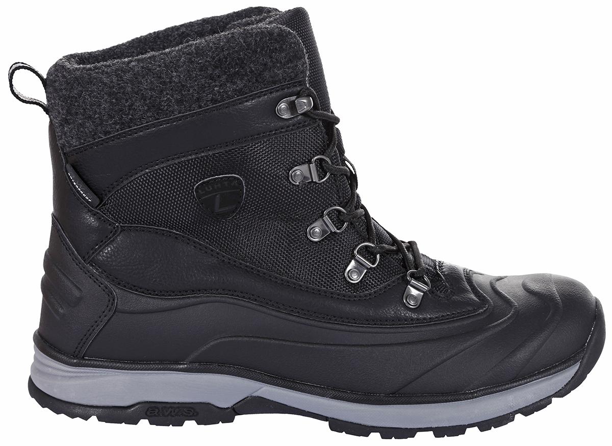 Ботинки мужские Luhta, цвет: черный. 878520477LV_990. Размер 41 (40)878520477LV_990