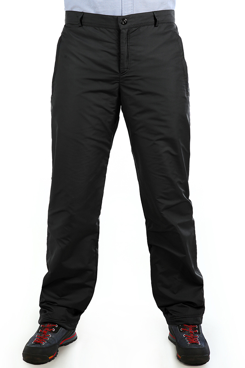 Брюки утепленные мужские Xaska, цвет: черный. 16417. Размер 5016417_BlackУтепленные мужские брюки изготовлены из высококачественного полиэстера. В качестве утеплителя используется полиэстер.Модель прямого кроя застегивается на пуговицы в поясе и ширинку на застежке-молнии.