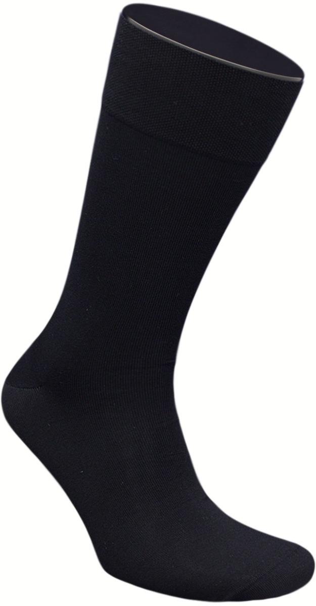Носки мужские Гранд, цвет: черный, 2 пары. ZCmr149. Размер 27ZCmr149Элитные мужские носки из мерсеризованного хлопка: - бесшовная технология (кеттельный, плоский шов); - хорошо держат форму; - обладают повышенной воздухопроницаемостью; - не линяют после многочисленных стирок; - имеют оптимальную высоту паголенка; - мягкая анатомическая резинка; - усилены пятка и мысок. Носки произведены по европейским стандартам на современных итальянских вязальных автоматах «BUSI GIOVANNI».